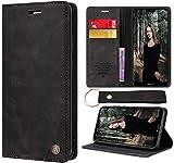 CaseNN Funda para Huawei P20 Lite Carcasa con Tarjetero Fundas Tapa Libro Libro de Cuero PU para...
