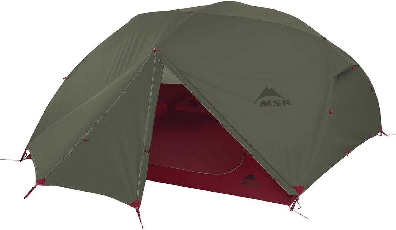 MSR Elixir 4 Backpacking Tent (Green)