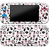 Cavka Vinyl Decal Skin Compatible with Console Switch Lite (2019) Stickers with Design Girly Accessories Lady Cute Cover Glam Print Durable Protection Full Set Protector Pink Faceplate Fashion Wrap