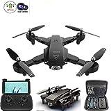 DTTKKUE Drone mit 720P Kamera, Beste Drone für Anfänger Weitwinkel Dual-Kameras HD WiFi Live-Video, mit Follow Me Altitude Hold Trajektorie Flug, 3D-Flips, Headless Modus, Eine Tastenbedienung
