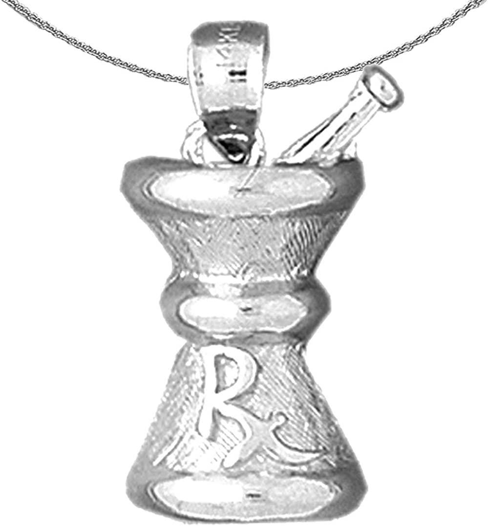 Jewels Max 86% OFF Obsession Silver Rx Necklace Topics on TV Mixing Bowl Rhodium-plated