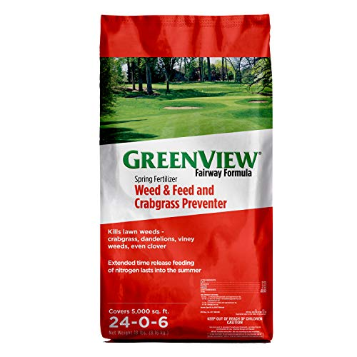 GreenView 2129267 Fairway Formula Spring Fertilizer Weed &...