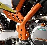 KTM NEW ORANGE FRAME PROTECTION GUARDS SX SXR XC XC-W EXC 2007-11 7730309410004