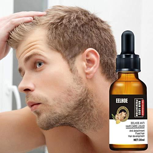 Haar Wachstum Serum/Haarausfall und Haar-Behandlung - 30ml Haar Serum, Neues Haarwachstum stimuliert, Fördert Dickeres, Volleres und Schneller Wachsenden Haar