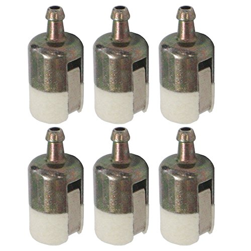 Hipa 125-527 Fuel Filter 13120507320 13120519830 for Echo String Trimmer/Edger/Backpack Blower (Pack of 6)