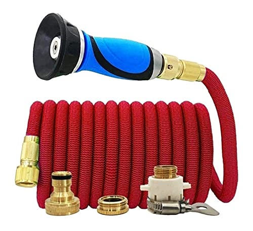 Tubo flessibile espandibile per tubo magico Automobile Auto Lavaggio Auto Verdura Giardino Giardino Annaffiatoio Ugello Tubo flessibile Drip Impianti di irrigazione Anti-perdita NO-KINK TUBO GIARDINO