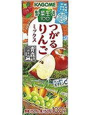 カゴメ 野菜生活100 つがるりんごミックス195ml×24本