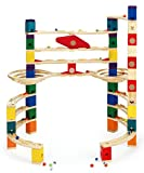 Hape - E6016 - Jeu De Construction en Bois - Circuit de Billes Quadrilla - The Challenger
