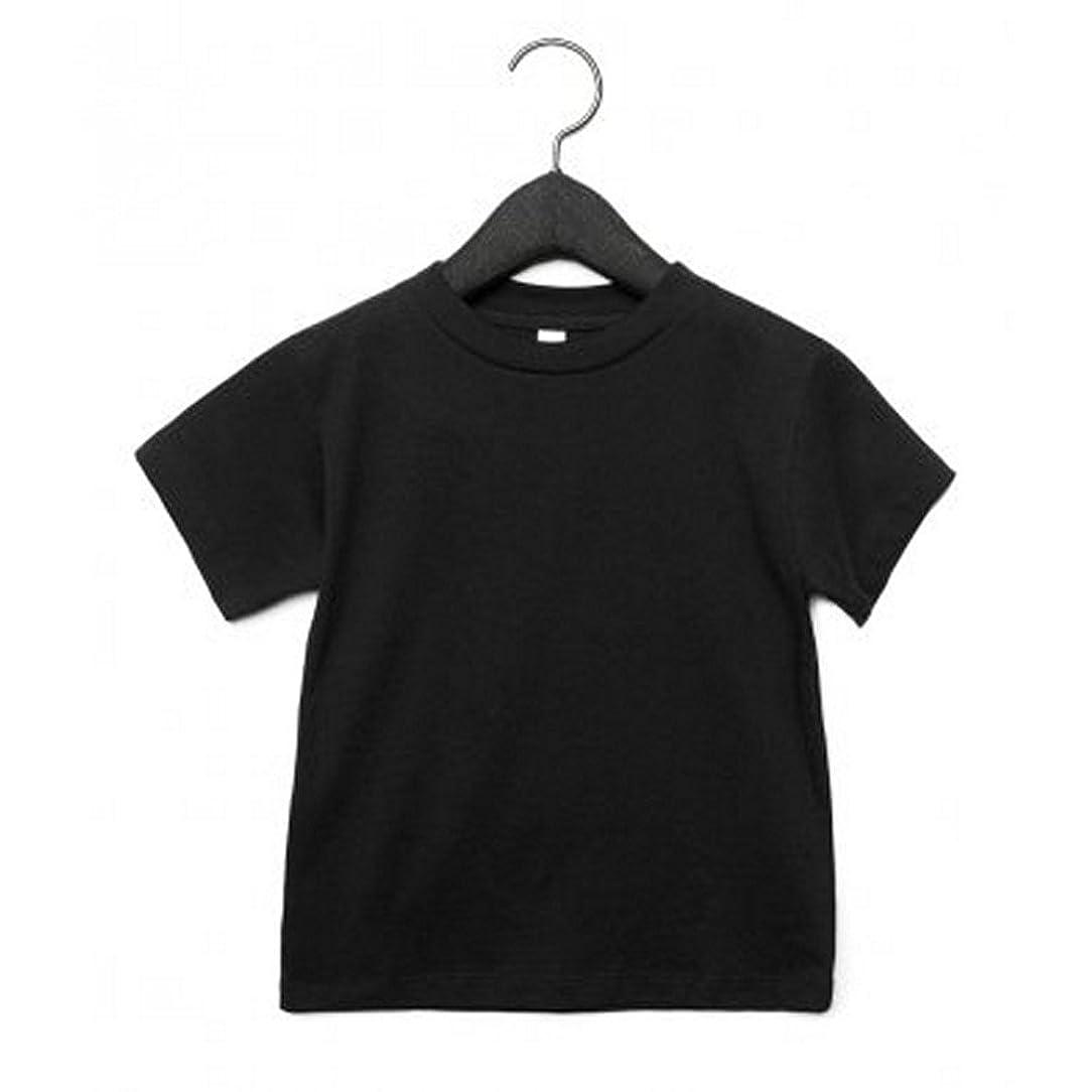 部分的自発的たくさん(ベラ?キャンバス) Bella + Canvas ベビー?幼児用 半袖 クルーネック Tシャツ