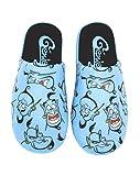 Zapatillas de Mujer 100% poliéster Azul Aladdin Genie de Disney