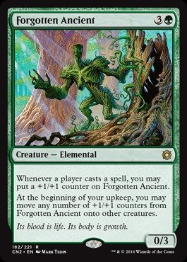 Magic The Gathering - Forgotten Ancient (182/221) - Conspiracy 2: Take The Crown