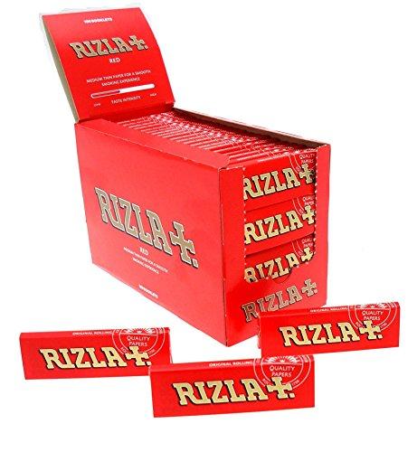 Rizla Corta Rossa, 100 booklets