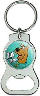 Graphics and More Scooby-Doo Ruh Roh Keychain with Bottle Cap Opener