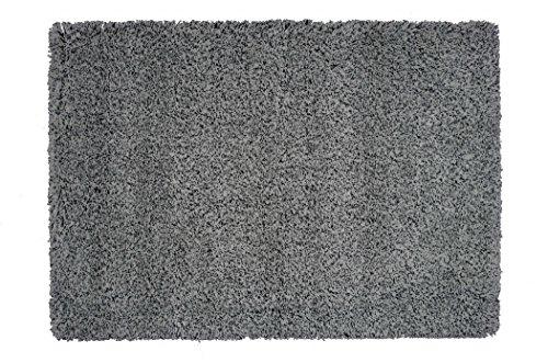 Alfombrista Oulu Alfombra, Acrílico, Negro y Gris, 165 x 235 cm