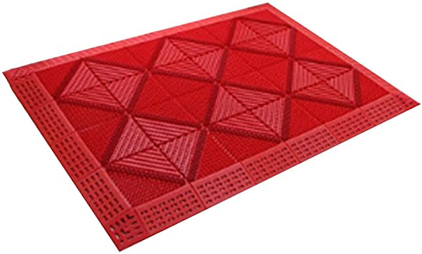 Bath Mat Kids Bath Rugs Stitching Dustproof Mat Foot Pad Mall Floor Mat Main Entrance Outdoor Hotel WEIYV Color Red Size 90150cm