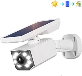 Solar Motion Sensor Light, 800Lumens 8 LED Solar Security Lights with PIR Motion Detection 3000mAh Outdoor Waterproof Flood with 3 Lighting Mode for Driveway Garden Patio