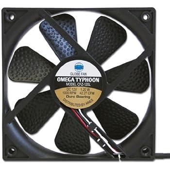 アイネックス OMEGA TYPHOON 120mm 究極静音タイプ CFZ-120L