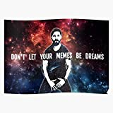 Be Shia Memes Let Dreams Dont Your Meme LaBeouf Top Selling The Best and Style Home Decor Wall Art Print Poster !