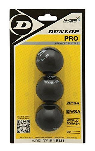 DUNLOP 3Bbl Pro Blister de 3 balles Mixte Adulte