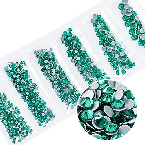 Rhinestones de cristal transparente de calidad superior de cristal de diamantes de imitación de hierro en diamantes de imitación para ropa de tela SS6-SS20