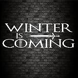 Winter is coming Funny Auto Fenster Bumper Game of Thrones Vinyl Aufkleber Aufkleber