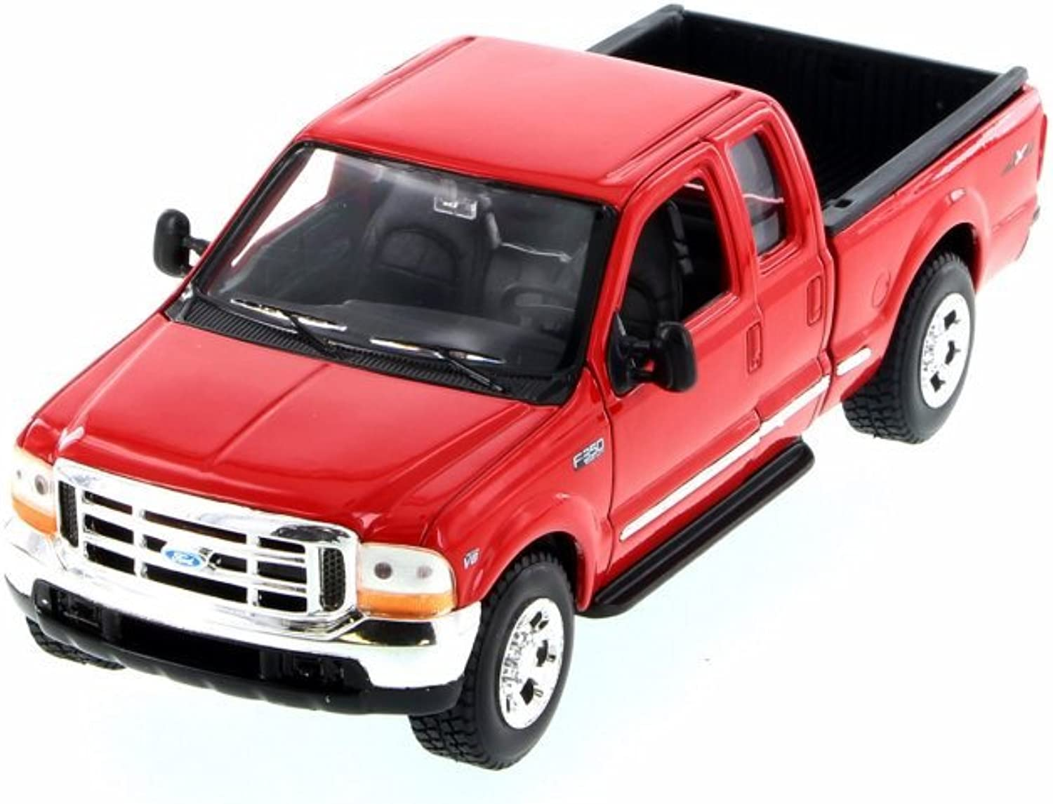 Welly 1999 Ford F350 Pickup Truck 1 24 Scale Diecast Model Car Red