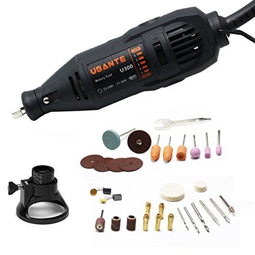 UBANTE U300 Variable Speed Rotary Tool Kit - Versatile Cutting,...