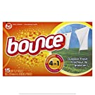 Bounce Outdoor Fresh Scented Fabric Softener Dryer Sheets, 15 Count