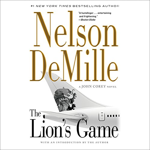 The Lion's Game audiobook cover art
