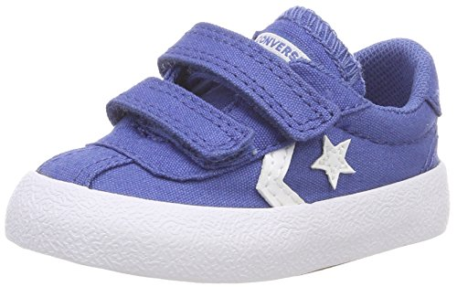 Converse Unisex Baby Breakpoint 2V OX Babyschuhe, Blau (Nightfall Blue/Nightfall Blue 441), 22 EU