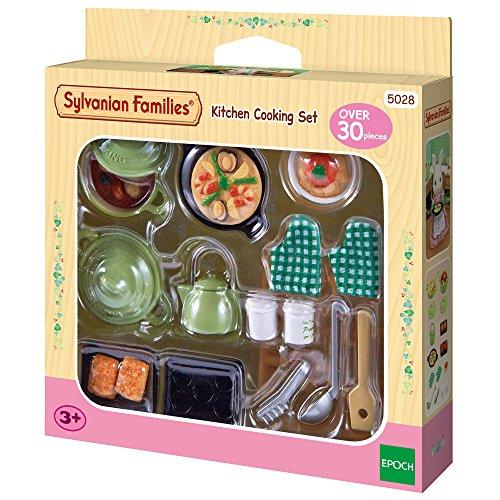 Sylvanian Families 5028 Küchen Koch-Set - Puppenhaus Einrichtung Möbel