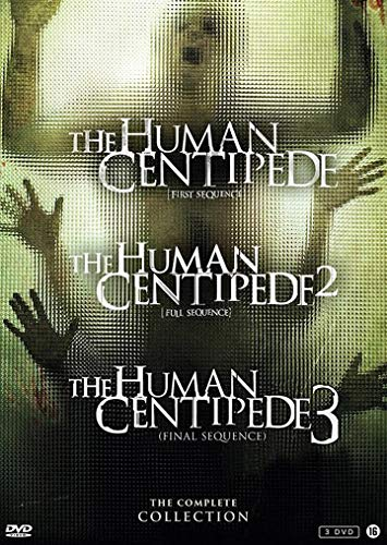 The Human Centipede 1-3 Collection ( The Human Centipede (First Sequence) / The Human Centipede II (Full Sequence) / The Human Centipede III (Final Sequence) ) [ Holländische Import ]