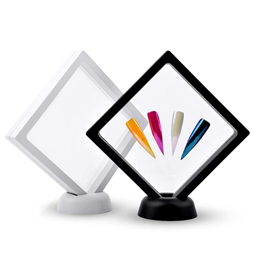 ヘッジ傾向があります消費者P Prettyia 2本 ネイルアートボード ネイルアート ディスプレイ 絵画用ボード DIY