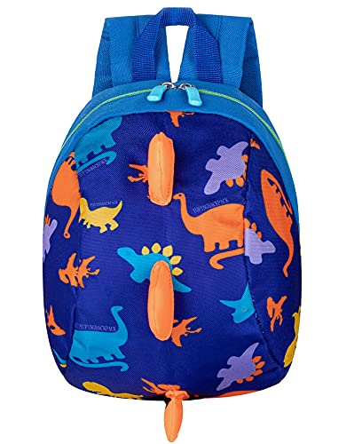 Product Image of the Toddler kids Dinosaur Backpack Book Bags with Safety Leash for Boys Girls...