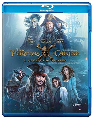 Piratas Do Caribe: A Vingança De Salazar [Blu-ray]