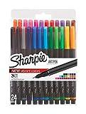 Sharpie Art Pens, Fine Point, Assorted Colors, 24 Count (1983967)