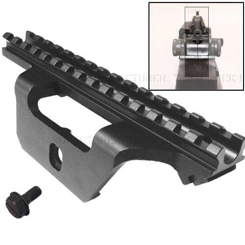Low Profile See-thru Scope Mount fit the Springfield .308 rifle like socom 16