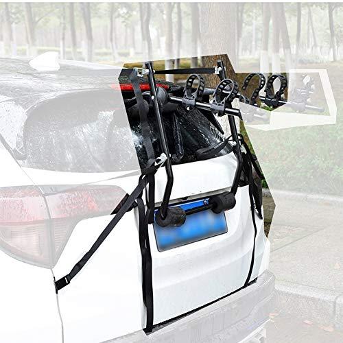 LJIANW Reforzamiento 2 Bicicletas Bastidores de Enganche for Sedán Hatchback SUV, Instalación rápida (Color : Black, Size : 69x60x60cm)