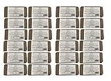 Ladrillo de fibra de coco prensado 24 x 8 (192) litros, aprox. 650 g (0,13 EUR / litro), tierra para macetas sin turba, 100% puro, ladrillo humus