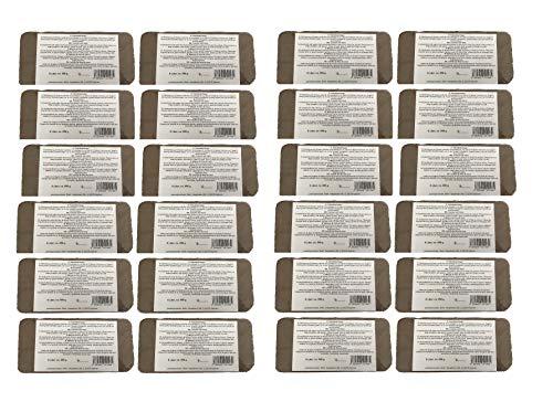 Kokosfaserziegel 24 x 8 Liter, ca. 650 g je Ziegel, gesamt:192 Liter, (EUR 0,14 je Liter/EUR 1,16 je Ziegel), Humusziegel, Kokosziegel, torffreie Anzuchterde, Kokosquellerde aus gepresster Kokosfaser