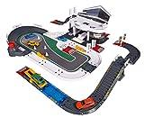 Majorette- Mega Set Porsche con 5 Veicoli Luci e Suoni + 3 Anni, 205840