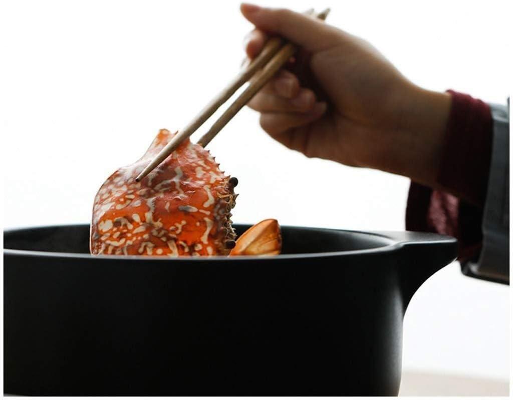ZTMN Casserole à la Mode Peinte à la Main Soupe à la Maison à gaz Pot en céramique Cuisinière à gaz Soupe spéciale à Haute température (Couleur: comme Photo, Taille: -) As Photo