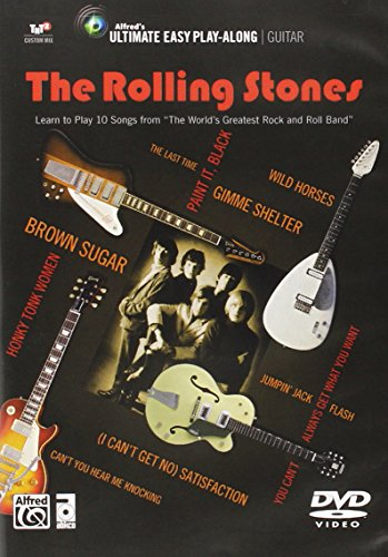 """Ultimate Easy Guitar Play-Along -- The Rolling Stones: Learn to Play 10 Songs from """"""""The World's Greatest Rock and Roll Band"""""""" (Easy Guitar TAB) (DVD)"""