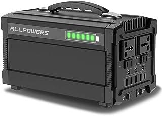 ALLPOWERS 288Wh 78000mAh Generador Inverter, Generador Portátil Solar Carga con AC 220V Salida de DC