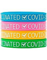 QINGCHU Siliconen armbanden met vaccinatievaccinatie, identificatie armbanden