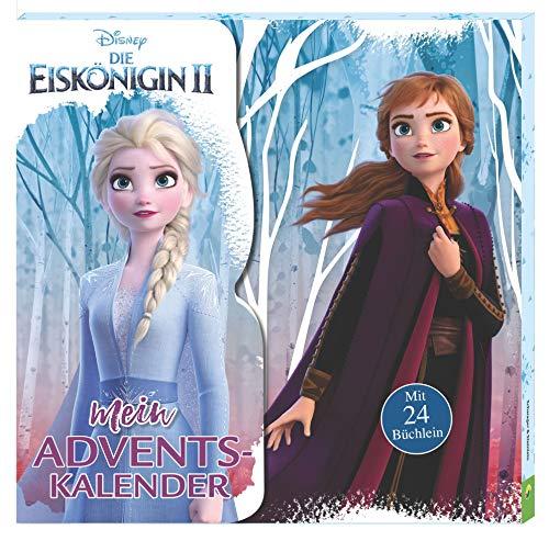 Die Eiskönigin 2: Mein Adventskalender: Kalenderbox mit 24 Mini-Büchlein