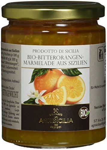 Agrisicilia Sizilianische Bitterorangen-Marmelade, 6er Pack (6 x 360 g)