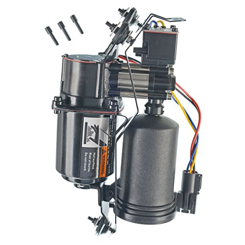 A-Premium Air Ride Suspension Compressor Replacement for Lincoln Town Car 1998-2002 with Air Dryer