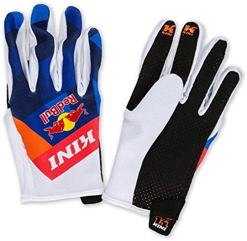 KINI Red Bull Vintage Gloves Orange/Blue Gr. XL