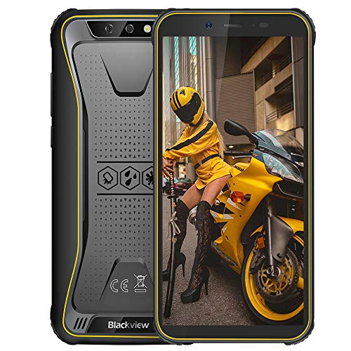 Rugged Smartphone in Offerta 4G, Blackview BV5500 Plus Android 10 Cellulare Antiurto con 8MP Dual...